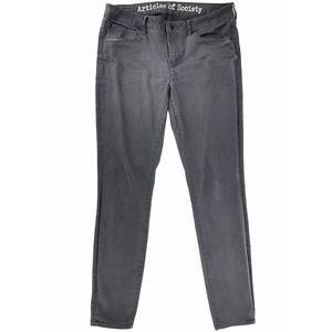 Articles of Society Black Skinny Leg Jeans 31